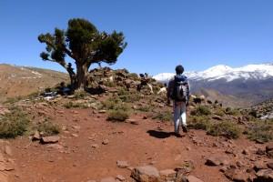 Randonnée à pied au Maroc