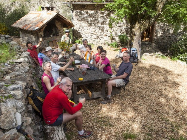 Randonnée dans le Piémont Ardéchois