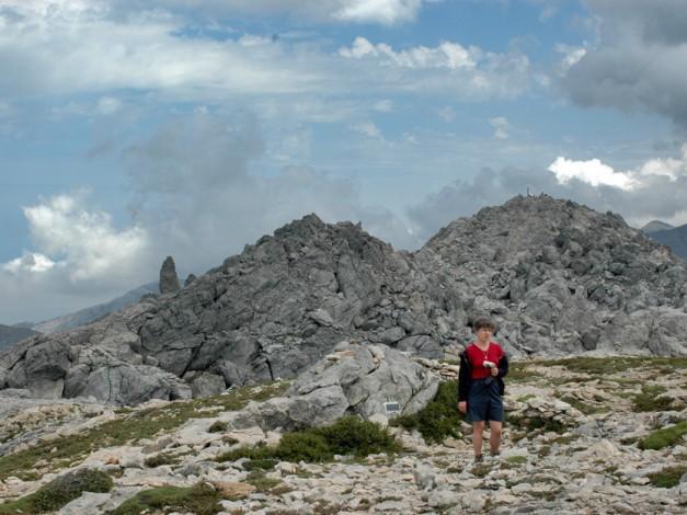 Randonnée en Crète les montagnes blanches