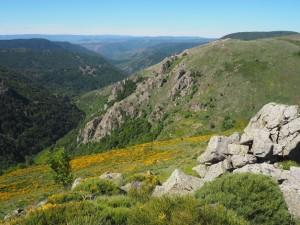 Randonnée Monts d'Ardèche