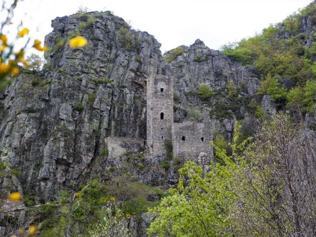 Gorges de la Borne dans le Piémont Ardéchois