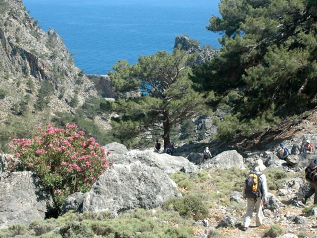 Randonnée à pied en Crète